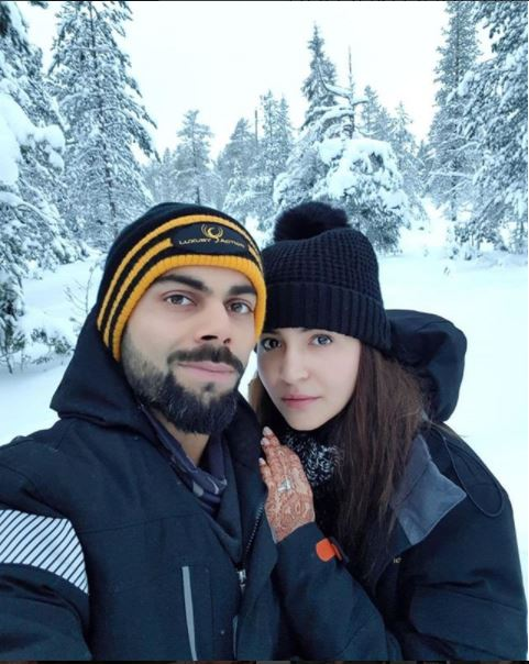 Anushka, Virat enjoy honeymoon in 'heaven'