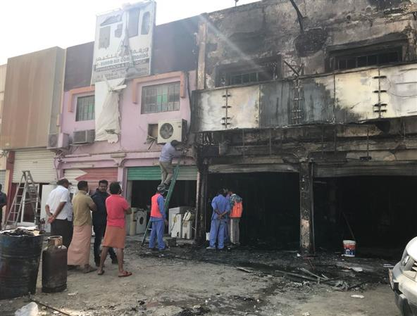 VIDEO: Several shops damaged in Riffa fire