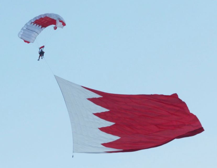 Bahrain's Royal Air Force puts on spectacular aerobatic display on National Day