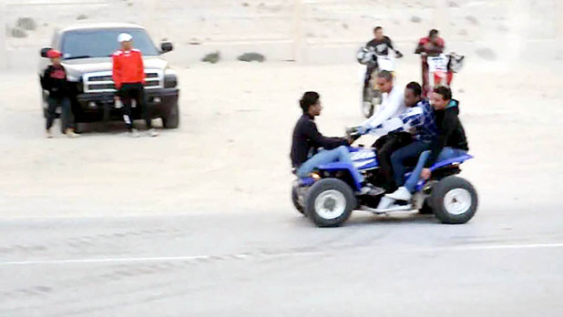 Crackdown on reckless quad bikers