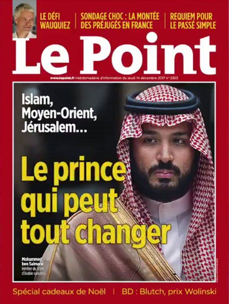 French magazine dedicates cover to Saudi Crown Prince