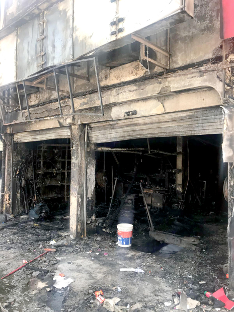 Workshop employee's quick action averts blaze tragedy