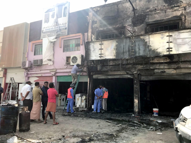Workshop employee's quick action averts blaze tragedy
