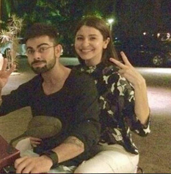 Bollywood: Virat Kohli and Anushka Sharma post-wedding photos