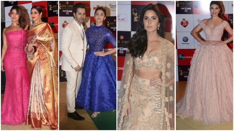 PHOTOS: Katrina, Priyanka, Akshay Kumar rocked the red carpet at Zee Cine Awards