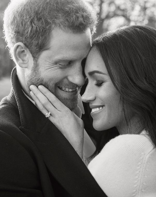 Engagement photos of Prince Harry and Meghan Markle released