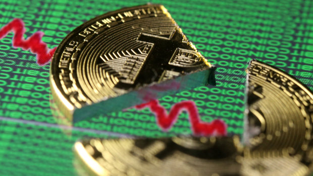 Bitcoin slips below $14,000, down 30 pct from record peak