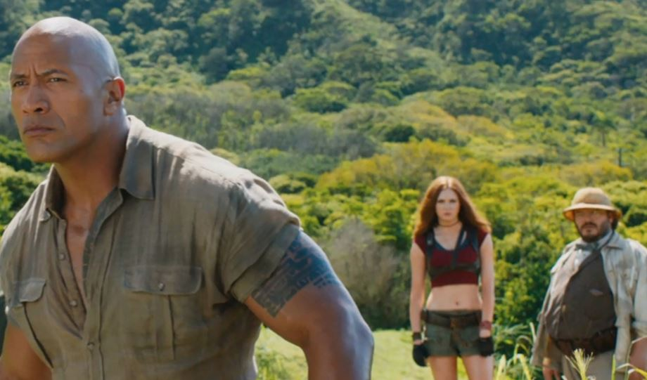 Film Review: 'Jumanji' sequel serves up stars, good hearted fun
