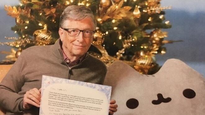 Bill Gates sends huge secret Santa gift to Reddit user