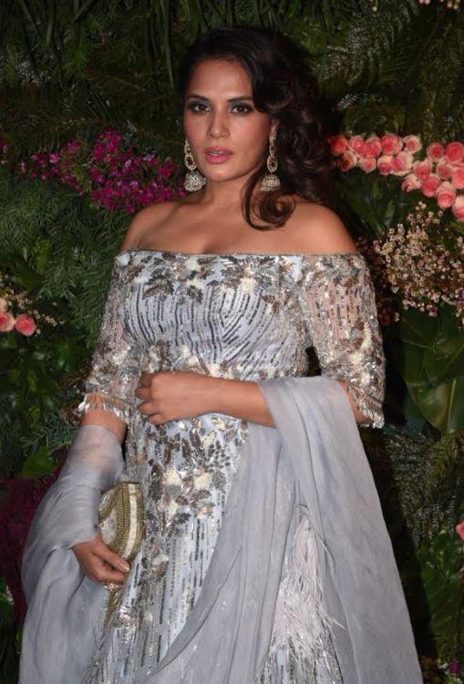 Celebs: Photos & Videos: Katrina, Kangana, SRK, Dhoni at Virat and Anushka's Mumbai reception