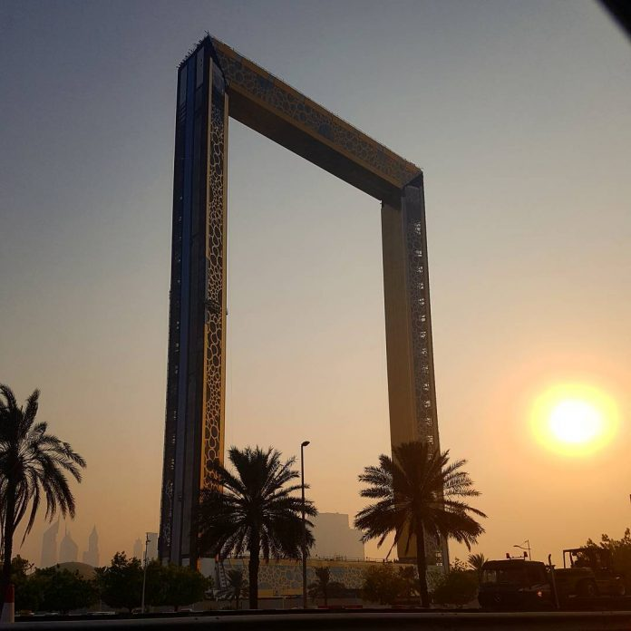 Dubai Frame to open on New Year's day