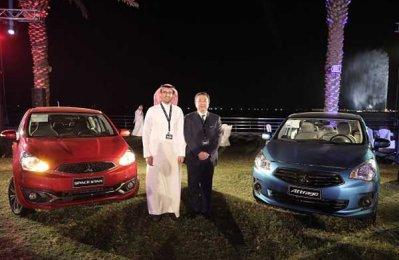 Mitsubishi launches new compact sedan in Saudi