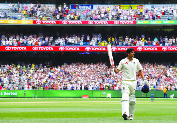 ASHES 2017-18: Alastair Cook puts England in charge