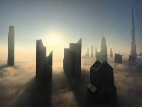 Thick fog hits UAE, likely carrying over to New Year