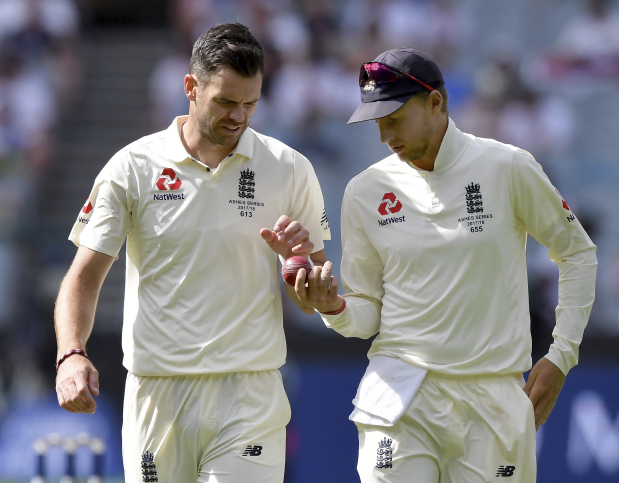 Ball tampering claims 'ridiculous' says Anderson