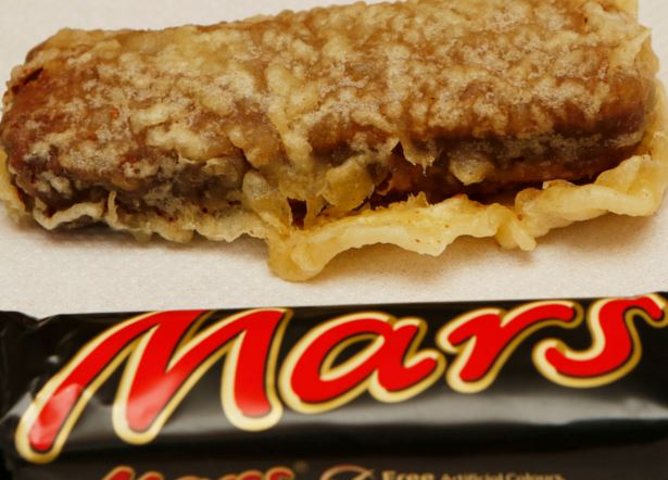 Fame and shame of the deep-fried Mars bar!