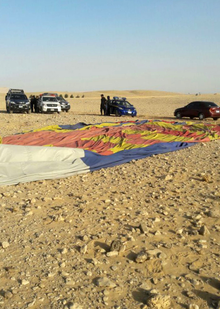 Middle East News: One tourist killed, 12 injured in air balloon crash in Egypt