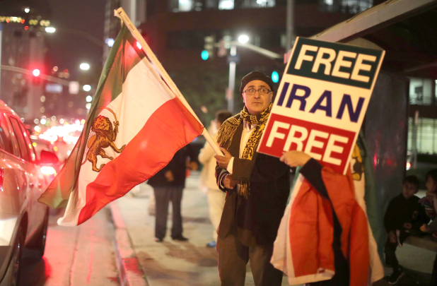 Protests continued across Iran for the eighth consecutive day