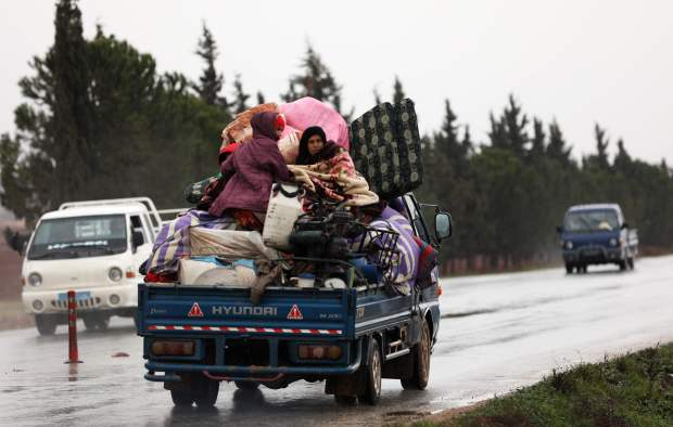 Syrian army presses offensive in last rebel stronghold of Idlib
