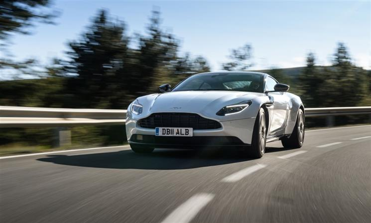 Aston Martin delivers record sales growth in 2017