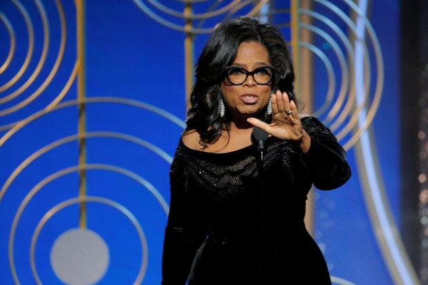 Oprah for president? Winfrey fans urge White House run after #MeToo speech