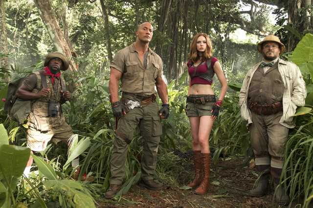 'Jumanji' bounds out of jungle to top North American box office