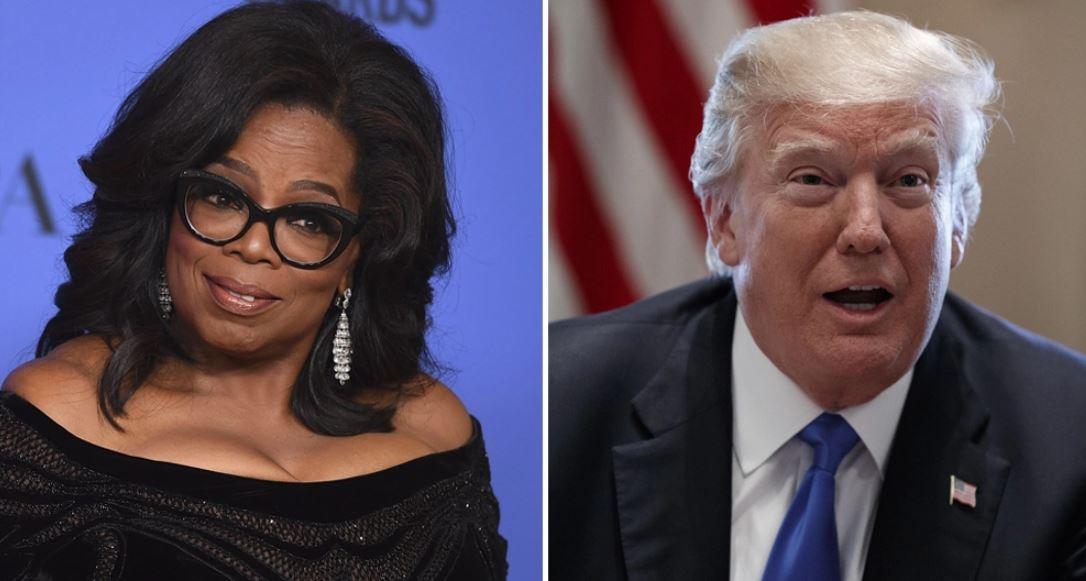 Trump: I will beat Oprah