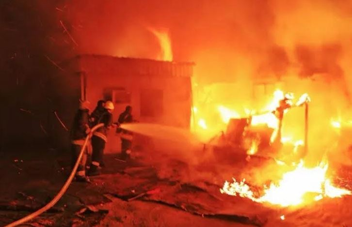 Five dead as blaze guts house in Mecca
