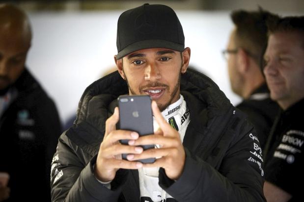 Hamilton's social silence has F1 fans talking