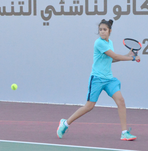 Bahrain juniors tennis: Ghozlene in last eight
