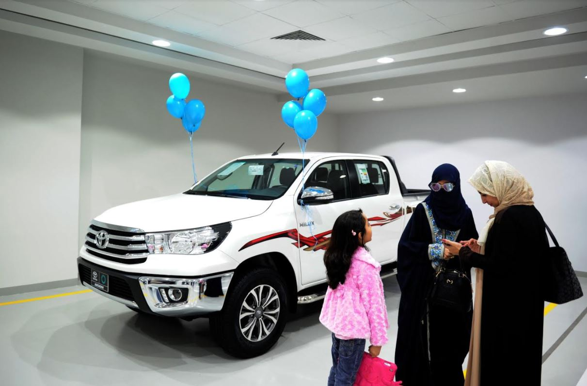Female-only car showroom opens in Jeddah