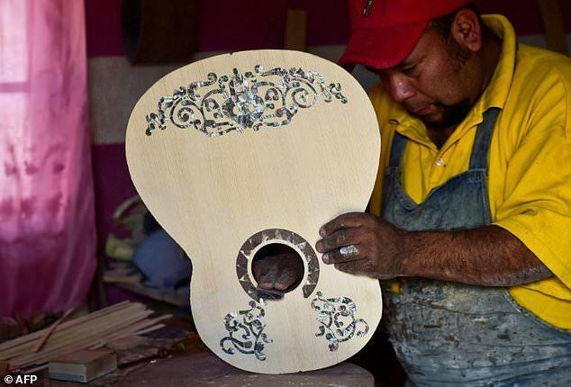 'Coco' guitars all the rage in Mexico