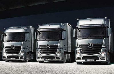 Qatar firm to supply 50 Actros trucks to Turkey