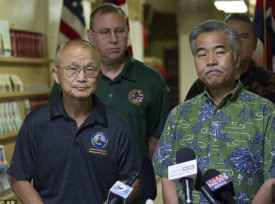 Hawaii false missile alert: Who pushed the button?