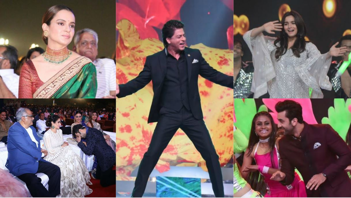 Glittery, wacky dresses and OTT dance moves, behind-the-scenes photos from 'Umang' 2018