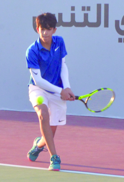 Bahrain junior tennis: Ali wins thriller