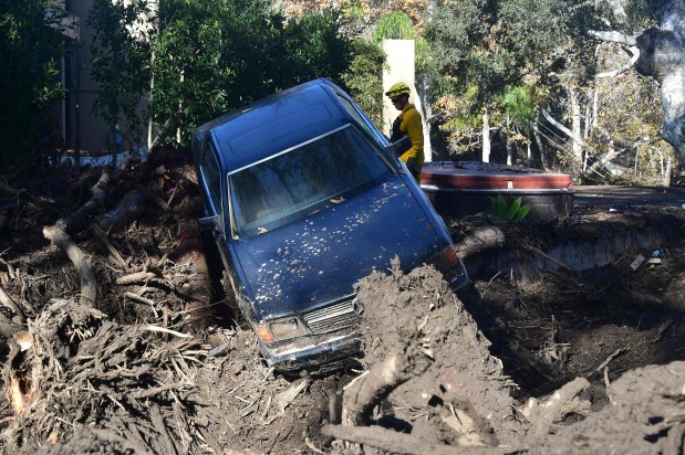Death toll from California mudslides rises to 19