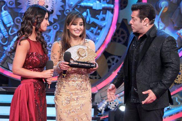 Shilpa Shinde wins reality show 'Bigg Boss'