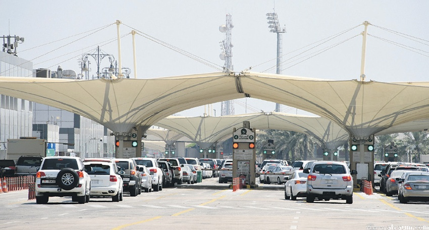 Around 300,000 passengers crossed King Fahd Causeway in three days