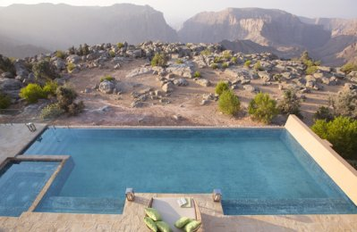 Escape to the mountain with Anantara Al Jabal Al Akhdar Resort