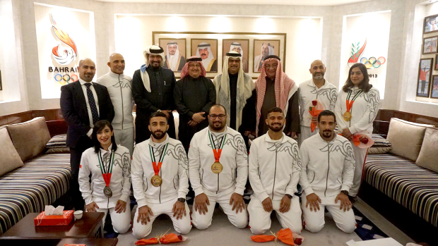 Bahrain jiu jitsu team excels at Abu Dhabi Grand Slam event