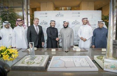 Kingdom Holding inks Jeddah tower infrastructure deal