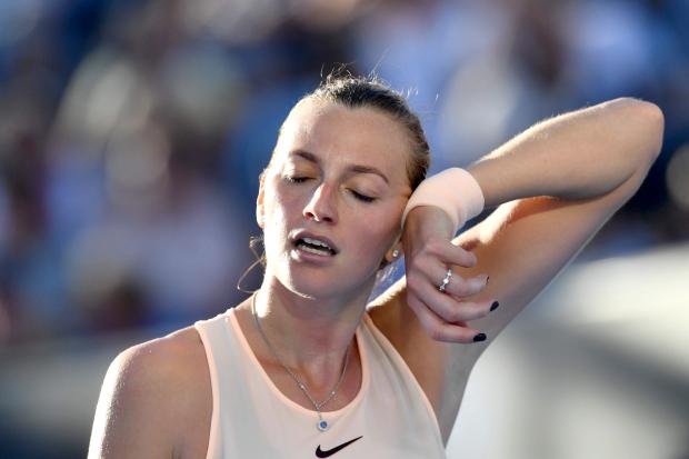 Australian Open: Petkovich dumps Kvitova; Halep and Sharapova advance