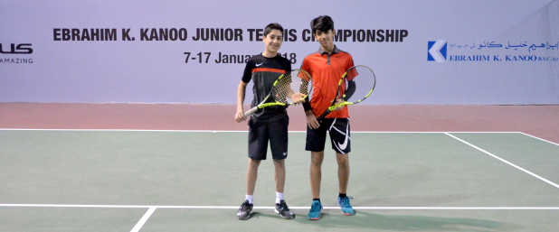 Mohammed and Ali clinch doubles title