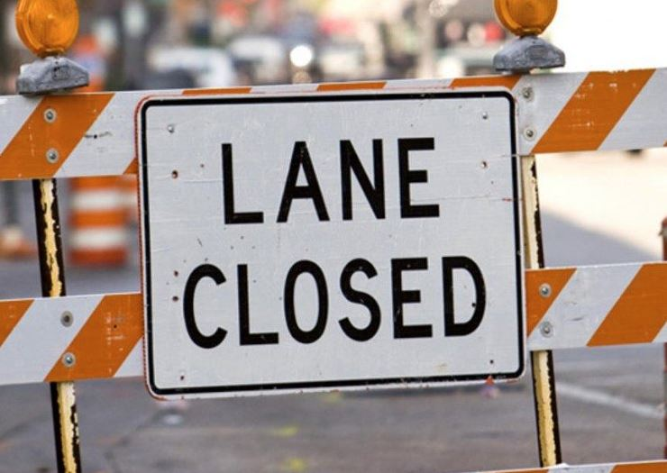 Traffic lanes on two major roads to be closed over the weekend