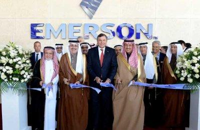 Emerson opens $25m technology centre in Saudi Arabia