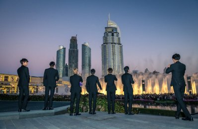 Dubai Fountain performs first K-Pop song