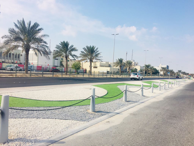 Al Quds Avenue beautification on track