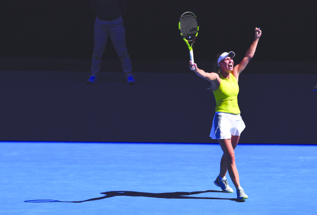 Day of great escapes: Wozniacki rallies from the brink to pip Fett in Australian Open