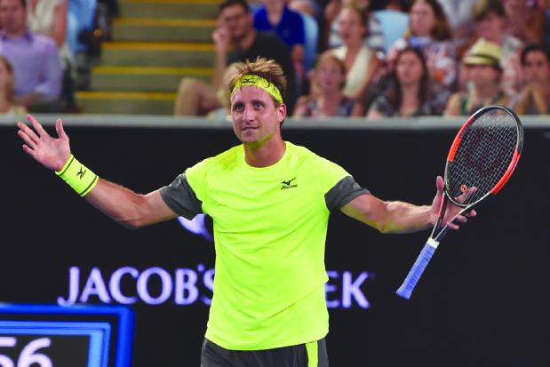 Australian Open: Sandgren ends Wawrinka hopes